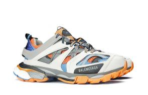 hommes new season wear balenciaga white blue orange
